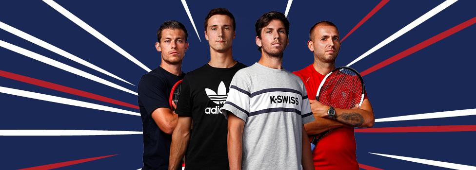 Great Britain announce Davis Cup Finals squad