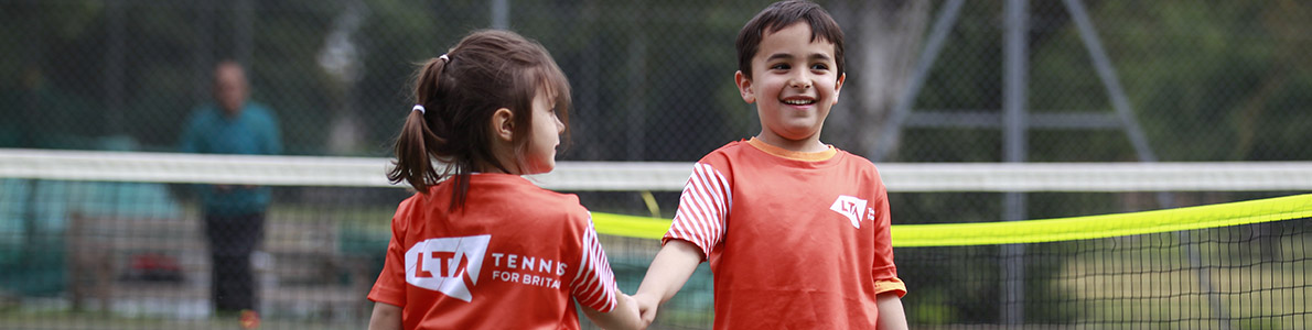 Tennis for Kids session