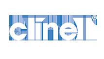 Clinell white logo