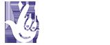 National Lottery logo - white