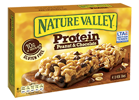 Nature Valley logo package