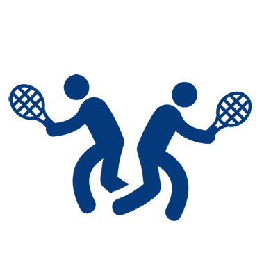 Singles and doubles World Tennis Number icon