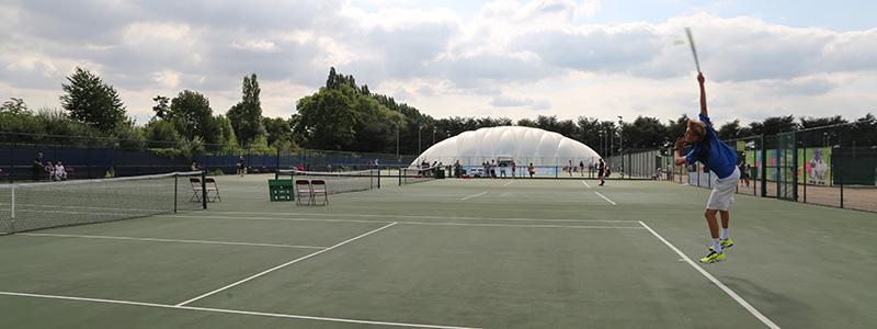 Junior National Tennis Championships in Nottingham, 2018