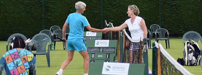 2017 Seniors Tennis GB Grass Court Championships at East Gloucestershire Tennis Club