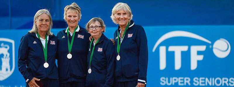 2019 GB Womens 70s silver medal winners