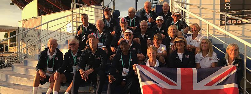GB Super Seniors claim trio of World Championship crowns in Croatia