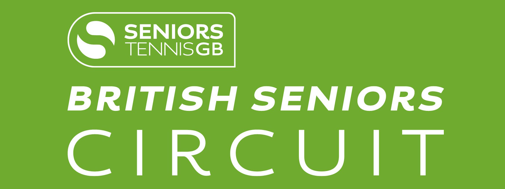 Seniors Tennis GB Circuit logo
