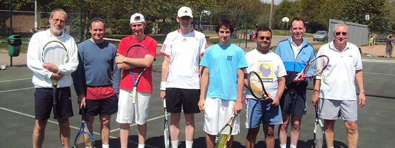 Bracknell mens Aegon Team Tennis team
