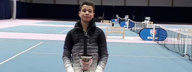 Jack Britton tournament winner - Aaron Dawson