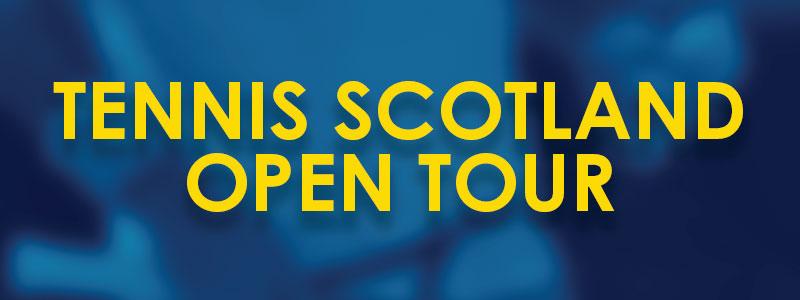 Tennis Scotland Open Tour Banner