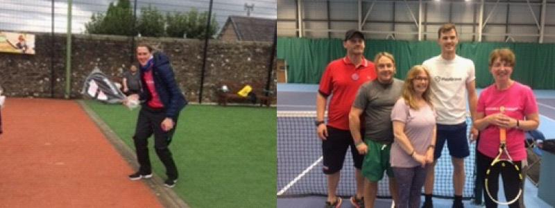 Accessible Tennis Participants
