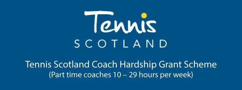 coaches grant scheme tennis scotland banner
