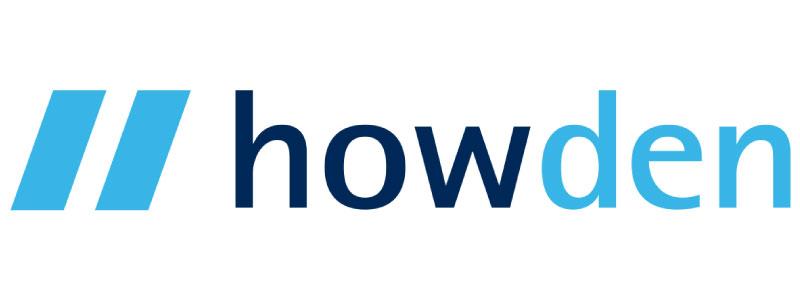 Howden logo, Tennis Scotland partner.