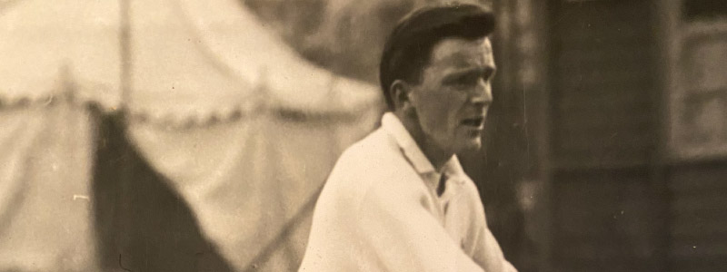 Jimmy Wood former Scotland & GB tennis player