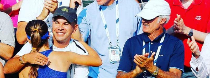 Jose Higueras ATP winner and former coach to Roger Federer