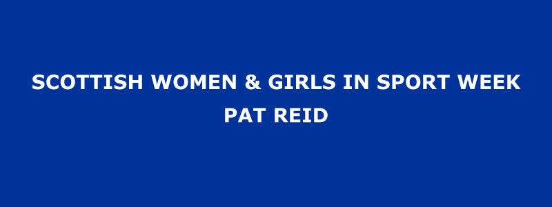 Pat Reid Banner