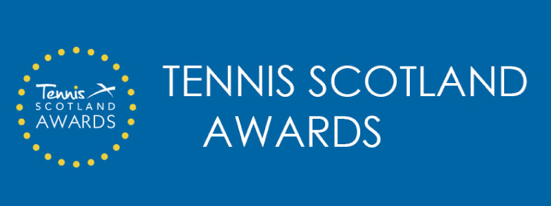 Tennis Scotland Awards Banner