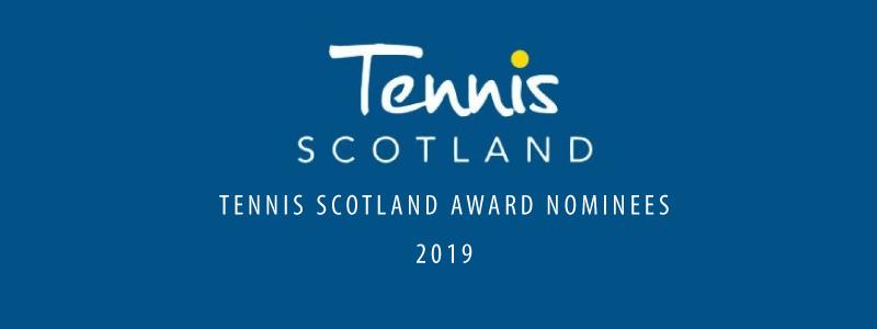 Tennis Scotland awards 2019