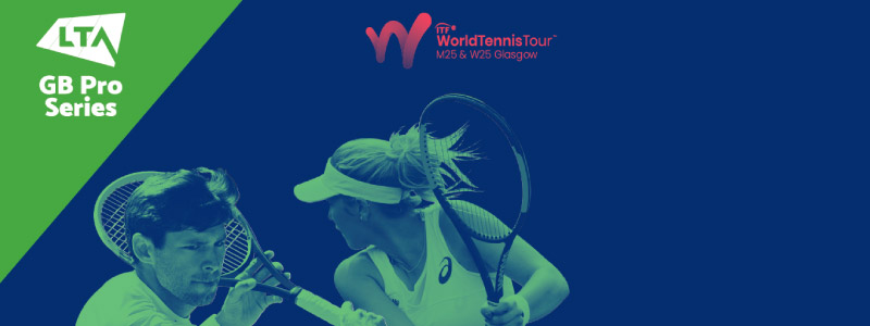 World Tennis Tour $25k - The Scottish Championships take place at Scotstoun in February 2020.