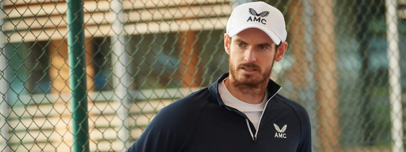 Andy Murray in AMC Clothing