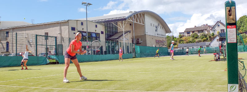 Oban outdoor courts