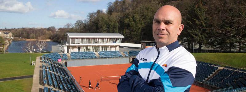 Lea Azevedo GB National Tennis Academy Coach