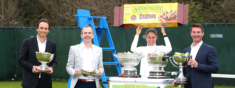 The Lawn Tennis Association and Nature Valley parntership announcement