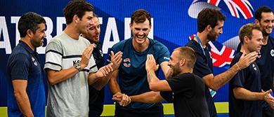 GB Team Bench in Sydney