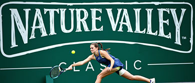 Katy Dunne at the Nature Valley Classic