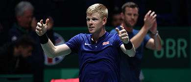 Kyle Edmund wins in Madrid