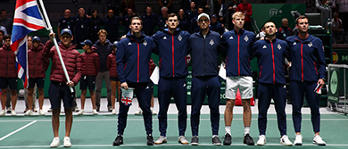 GB Davis Cup Team in Madrid