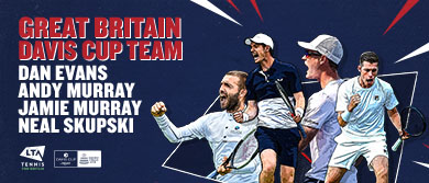 GB Davis Cup team for Madrid finals