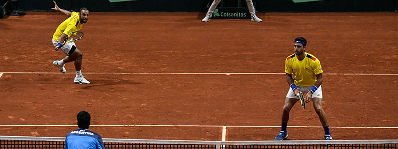 Colombia beat Argentina in Davis Cup qualifiers