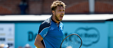 Stan Wawrinka at The Queen's Club