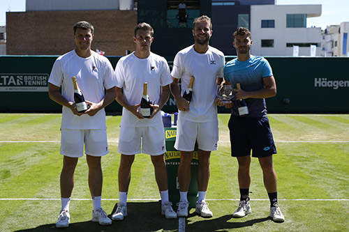 Nature Valley International doubles finalists