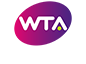 2019 WTA premier logo white text