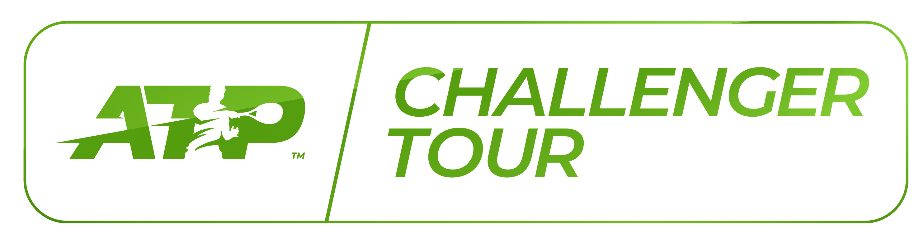 ATP Challenger Tour logo invert