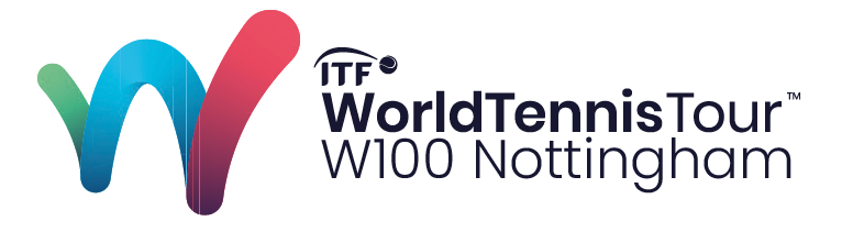 ITF W100 Nottingham Trophy Logo