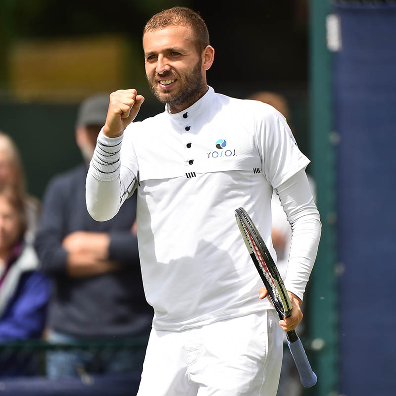 Dan Evans is through to the final
