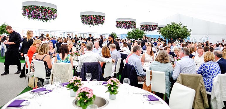 Fever-Tree Championships Hospitality Roof Garden