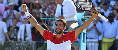 Marin Cilic at The Queen's Club
