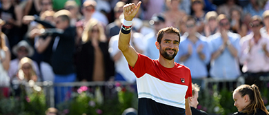 Marin Cilic at the Fever-Tree Championships