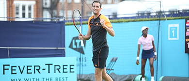 James Ward at The Queen's Club