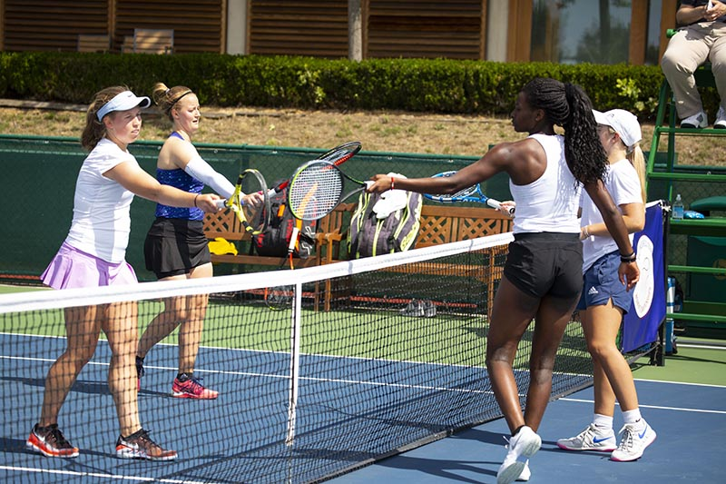 Arbuthnott & Popescu progress to the doubles final beating Adeshina & Kartal