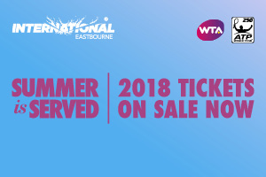 2018 tickets now on sale for Eastbourne
