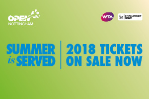 2018 tickets on sale now for Nottingham
