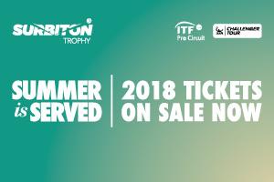 Surbiton tickets now on sale