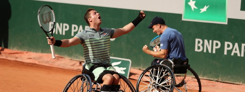 Alfie Hewett and Gordon Reid complete career Grand Slam