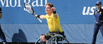 Alfie Hewett at the US Open