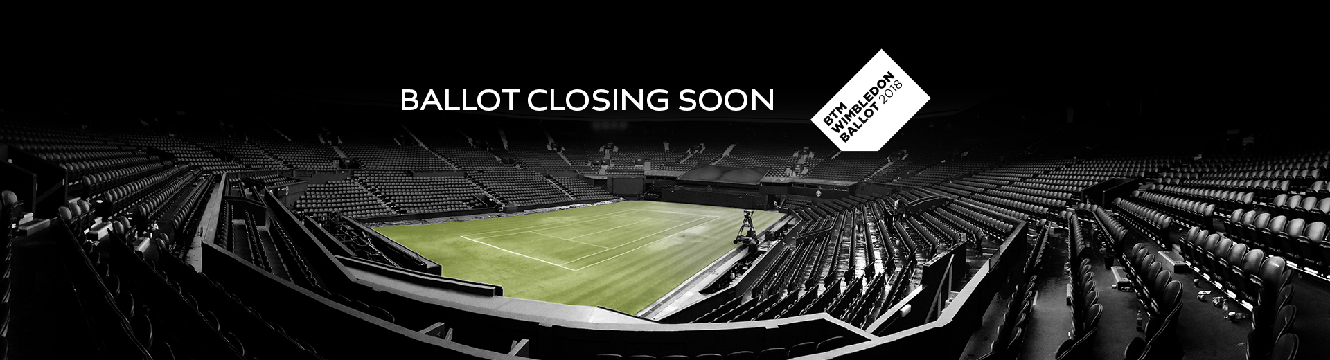 Opt In to the BTM Wimbledon Ballot